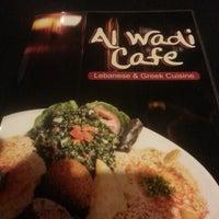 Photo taken at Al-Wadi Cafe by Bryce H. on 5/31/2014