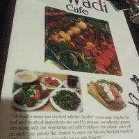 Photo taken at Al-Wadi Cafe by Bryce H. on 3/29/2014