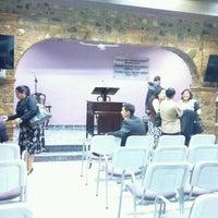 Photo taken at Salon del Reino de los testigos de Jehová by David S. on 12/16/2016