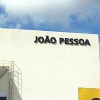 Photo taken at Aeroporto Internacional de João Pessoa / Castro Pinto (JPA) by Osmar N. on 12/27/2012