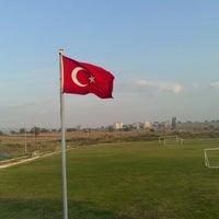Photo taken at Enez İlçe Stadı by Anıl T. on 10/2/2014