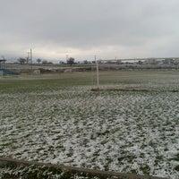 Photo taken at Enez İlçe Stadı by Anıl T. on 2/1/2014
