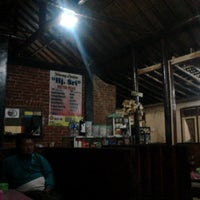 "Photo taken at Warung Lesehan ""Hj. Sri"" by Mur G. on 1/12/2014"
