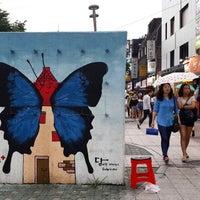Photo taken at 상상마당 카페 by Future S. L. on 6/21/2014