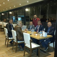 Photo taken at Marina Restaurant by Türker B. on 5/1/2015