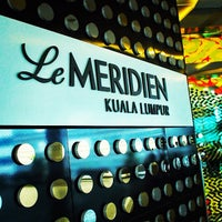 Photo taken at Le Méridien Kuala Lumpur by Ray M. on 10/8/2013