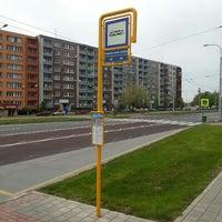 Photo taken at Stanice záchranné služby (bus) by Lukáš M. on 4/16/2014