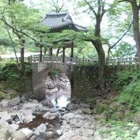 Photo taken at 천은사 (泉隱寺) by Dennis R. on 6/6/2014