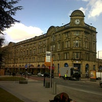 Photo taken at Manchester Victoria Railway Station (MCV) by jose antonio c. on 4/3/2013