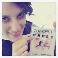Photo taken at Cosmoprof Bologna 2013 by Patrizia D. on 3/9/2013