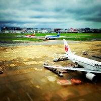 Photo taken at Fukuoka Airport (FUK) by avyavya on 9/1/2013