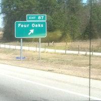 Photo taken at Interstate 95 by @WhiteAaron on 3/22/2013