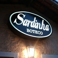 Photo taken at Sardinha Boteco by Luiz Felipe B. on 5/22/2014