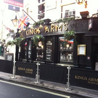 Photo taken at King's Arms by Alexandr K. on 12/15/2012