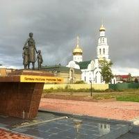 Photo taken at воскресенский кафедральный собор г. Кызыла by Alexandr K. on 9/12/2013