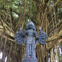 Photo taken at Kauai Hindu Monastery by Viv C. on 11/25/2016