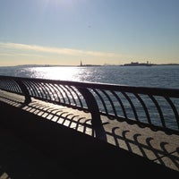 Photo taken at Hudson River Promenade by James B. on 11/6/2012