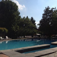 Photo taken at Circolo di campagna - Golf Country Club Zoate by Ale C. on 6/1/2014