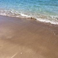 Photo taken at Sarısu Kadınlar Plajı by Hasan C. on 3/25/2017