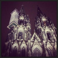Photo taken at Cologne Cathedral by Maarten B. on 1/9/2013
