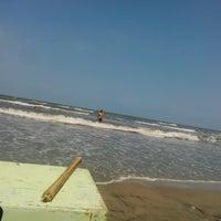 Photo taken at New Damietta Beach by Nada H. on 8/27/2014