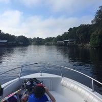 Photo taken at Hillsborough River by Michelle C. on 9/21/2014