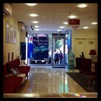 Photo taken at DenizBank by Eda T. on 11/8/2013