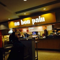 Photo taken at Au Bon Pain by Jin hwi J. on 4/2/2014