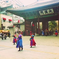 Photo taken at Daehanmun by Jin hwi J. on 3/17/2013