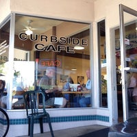 Photo taken at The Curbside Cafe by Carlos M. on 8/23/2014