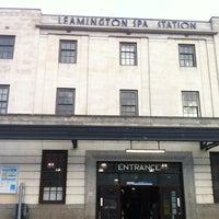Photo taken at Leamington Spa Railway Station (LMS) by simon e. on 1/4/2013