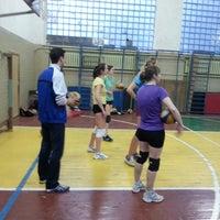 "Photo taken at Волейбольный Клуб ""КИЙ 97"" by Lyoka V. on 4/29/2014"