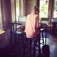 Photo taken at High Five Coffee Bar by Samia S. on 6/29/2013
