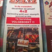 Photo taken at BBQ Restaurant Delft by BBQDelft on 12/15/2013