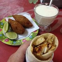 Photo taken at Amir al Shawarma by Luis F. on 12/18/2013