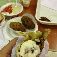 Photo taken at Falafel Restaurant by Luis F. on 10/27/2013