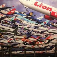 Photo taken at Lion Air FLOPS 1A by Luis B. on 3/9/2014