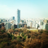 Photo taken at Shinjuku Chuo Park by Jun on 2/7/2013