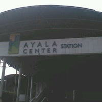 Photo taken at Ayala Bus Stop (Northbound) by Darren on 4/9/2013