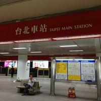 Photo taken at MRT Taipei Main Station by Louis Tsung 宗. on 6/28/2013