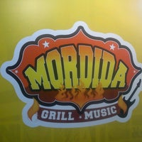 Photo taken at Mordida Grill & Music by Luis Alberto C. on 10/11/2013