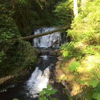 Photo taken at Wahclella Falls Trail by Voltaire V. on 5/10/2016