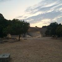 Photo taken at Ancient Stadium by Anna on 8/5/2016