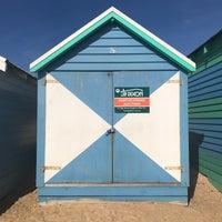 Photo taken at Brighton Bathing Box by Leo L. on 1/2/2018