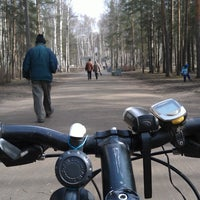 Photo taken at Кленовая Аллея В Сосновке by Dmitriy M. on 4/13/2014