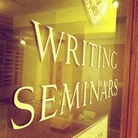 Photo taken at Johns Hopkins University Gilman Hall by Dave F. on 11/27/2013