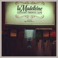 Photo taken at la Madeleine French Bakery & Café Columbia by Dave F. on 8/10/2013