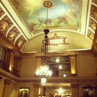 Photo taken at The Pfister Hotel by Dave F. on 7/4/2013