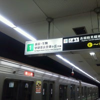 Photo taken at Chuo Line Morinomiya Station (C19) by みやこ じ. on 5/17/2013