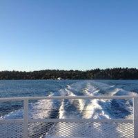 Photo taken at Vashon Ferry by david g. on 10/16/2012